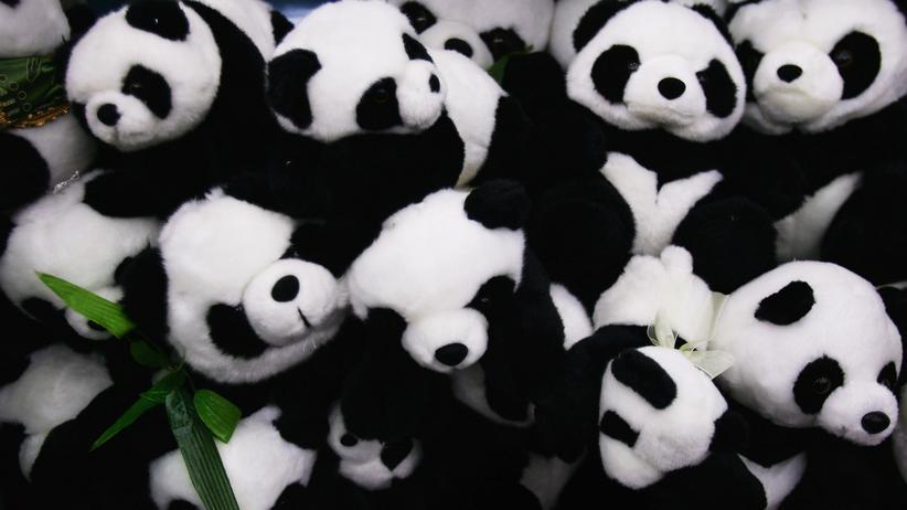 Spielzeug-Pandas