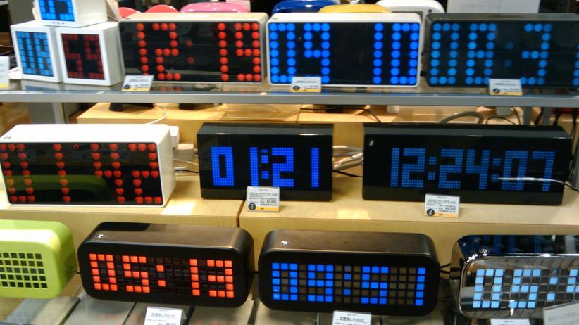 Klassische Digitaluhren sind von der Schaltsekunde kaum betroffen.
