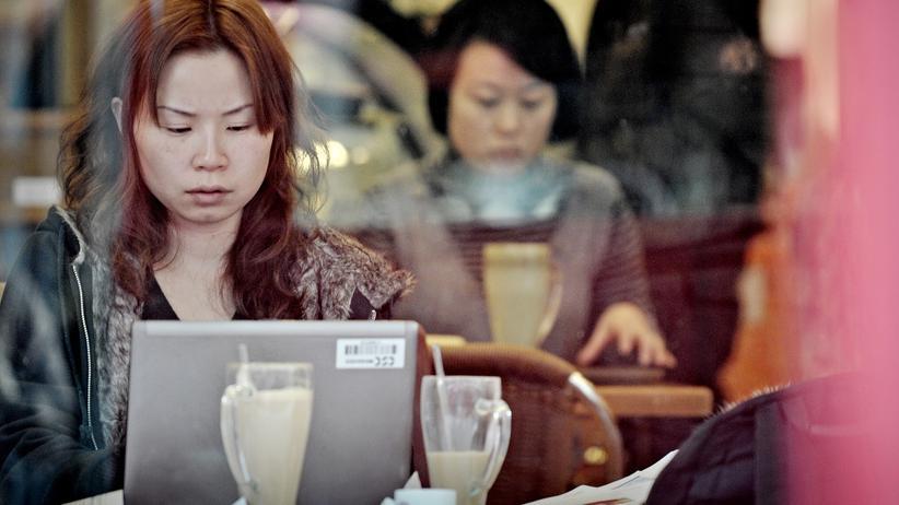 Das Internet in China wird von der Regierung stark zensiert.
