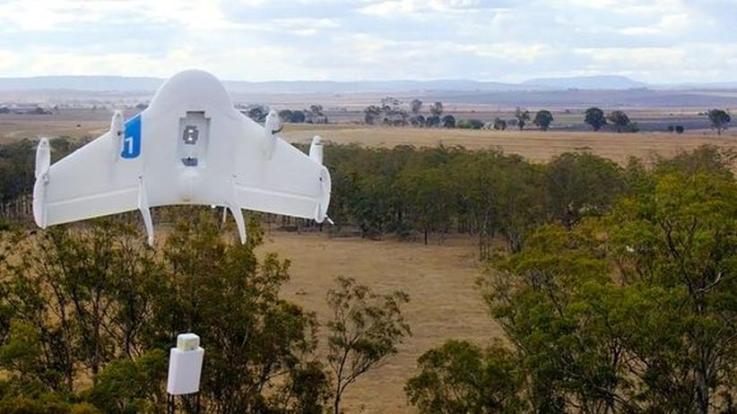 Von diesem Prototypen der Wing-Drohne ist Google inzwischen abgekehrt.
