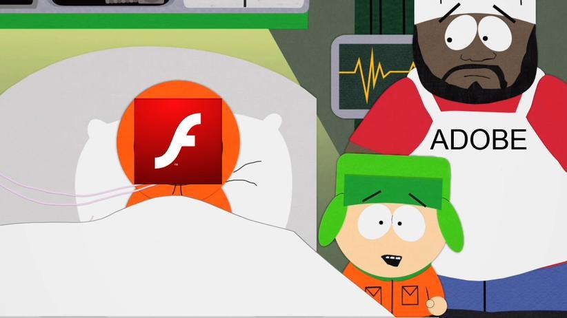 Adobe: Oh mein Gott, sie haben Flash getötet!