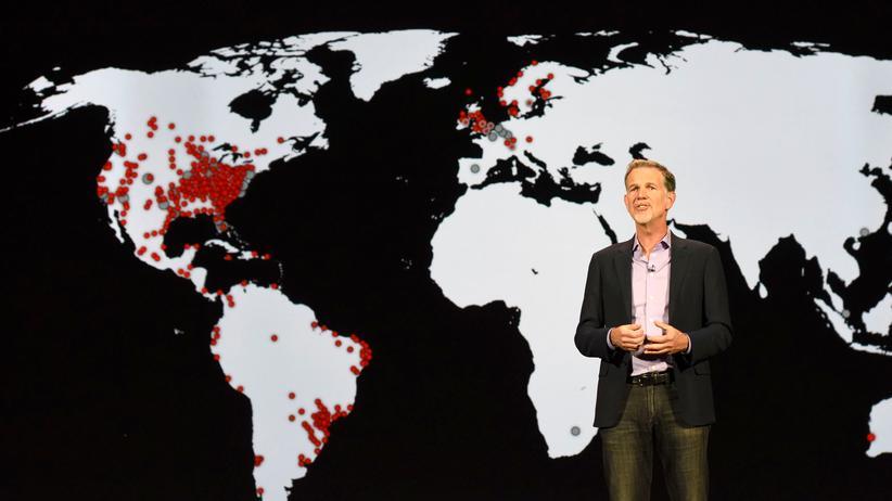 Netflix: Netflix-CEO Reed Hastings auf der CES in Las Vegas