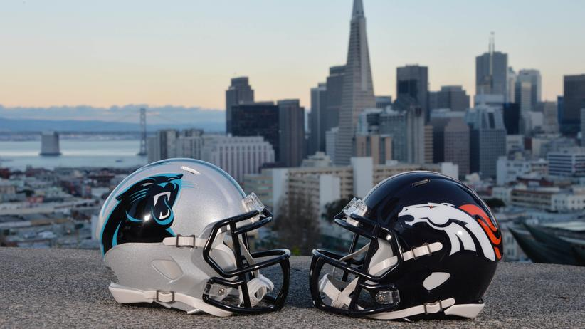 Super Bowl: Im Super Bowl 50 treffen die Denver Broncos auf die Carolina Panthers.