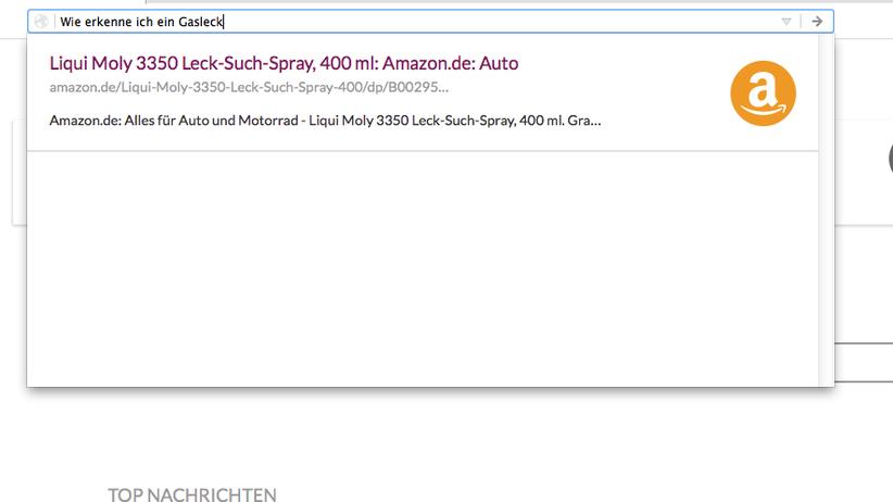 Wie erkenne ich ein Gasleck? Mit dem Leck-Suchspray von Amazon natürlich. Das ist nicht falsch, aber auch nicht zielführend