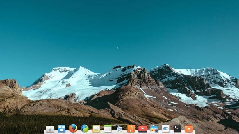 Linux: Die Oberfläche von elementary OS soll an Apples OS X erinnern.