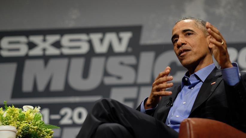 SXSW: Barack Obama auf dem SXSW 2016 in Austin