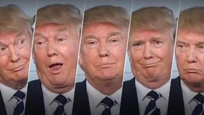 Internetphänomene: Woher kommt das #TrumpFace?