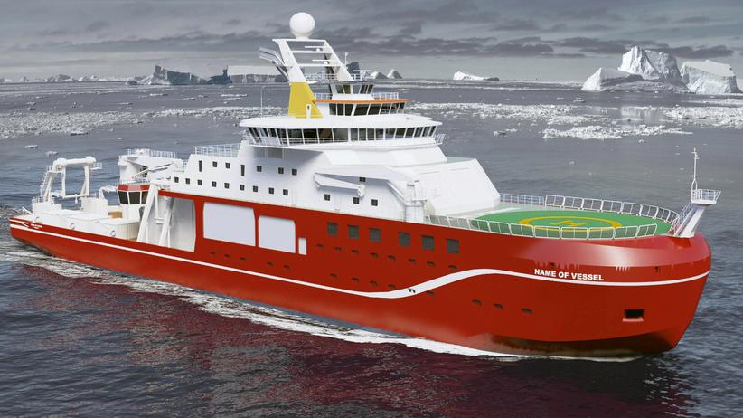 Großbritannien: Die stolze RRS Boaty McBoatface?