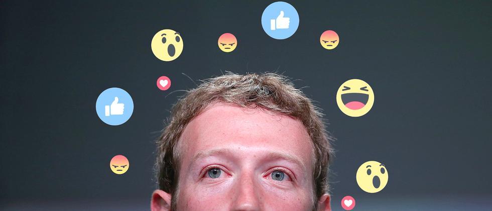 Mark Zuckerberg ist ein großer Fan von Livevideo.