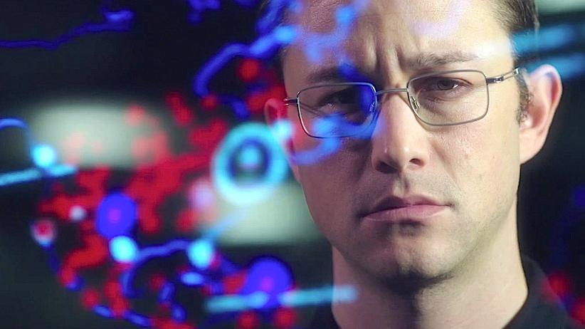 Joseph Gordon-Levitt verkörpert Edward Snowden.