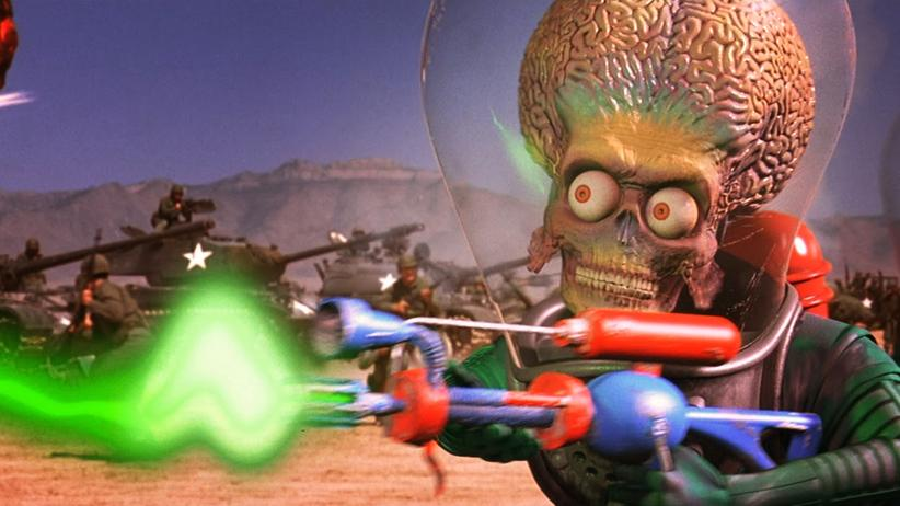 Szene aus Mars Attacks