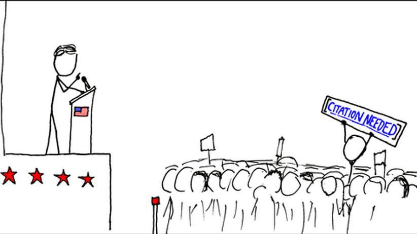 """Ein typisches Comic von """"xkcd"""""""