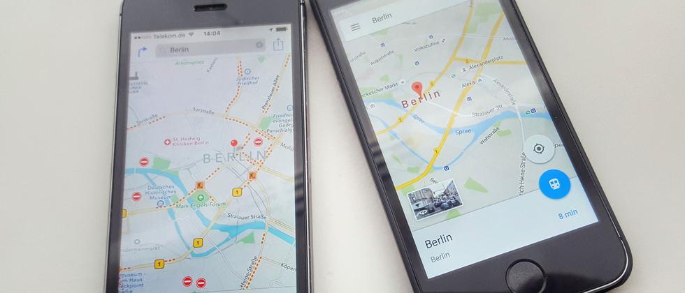 Google Apple Maps