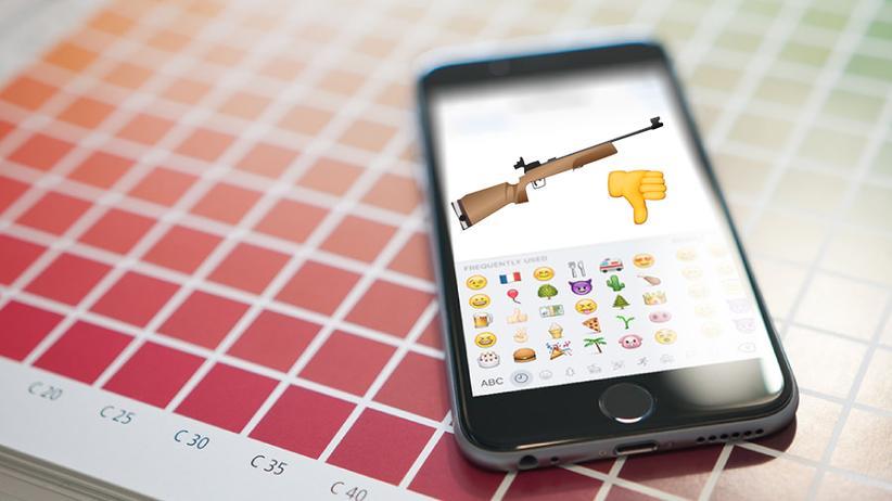 Emojis: Auf ein Gewehr-Emoji müssen Smartphonenutzer weiterhin warten.