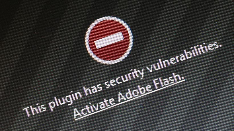 Warnung vor Flash in Firefox