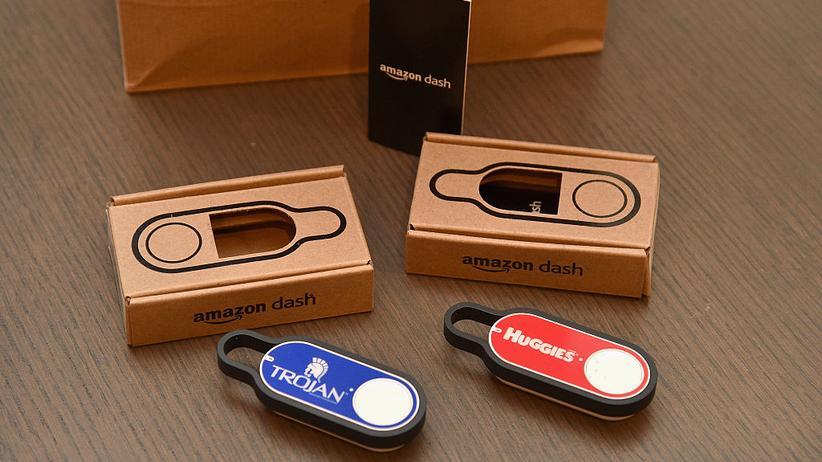 Amazon Dash-Button: Verbraucherschützer kritisieren den Einkaufsknopf