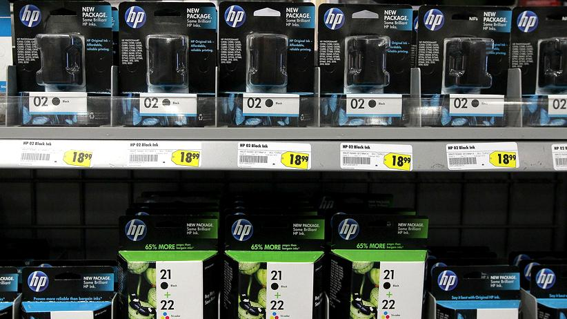 Druckerpatronen: HP-Druckerpatronen (Archivbild von 2010)