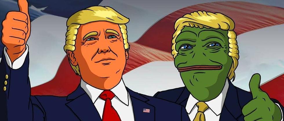 Donald Trump und Pepe – ein unschlagbares Meme Team?