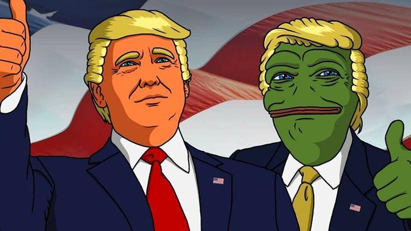 Meme: Wo Frösche sind, da sind auch Rechte