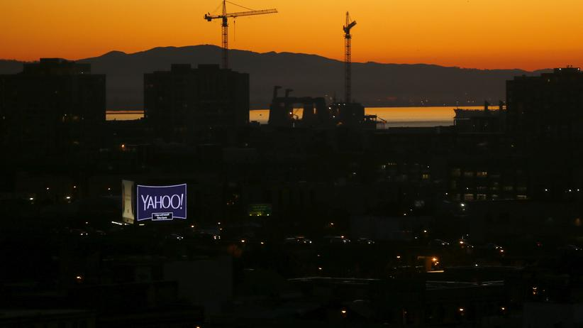 Yahoo-Werbung in San Francisco