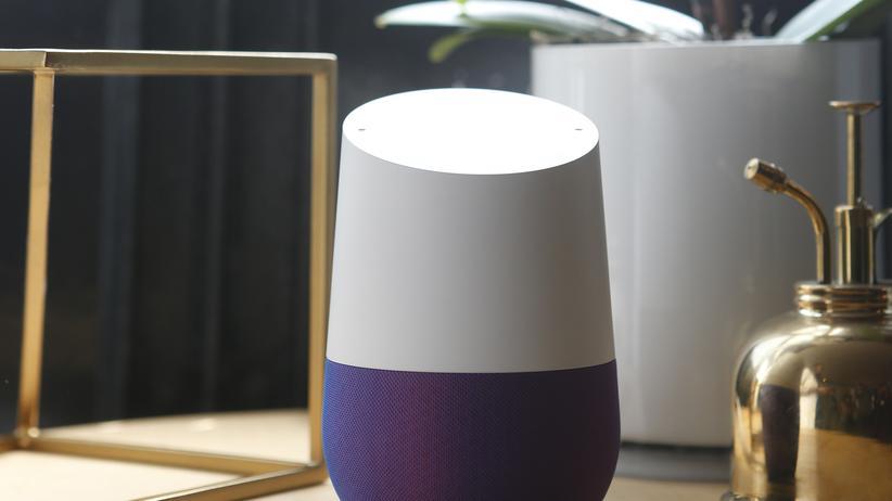 Googles neuer smarter Lautsprecher Google Home