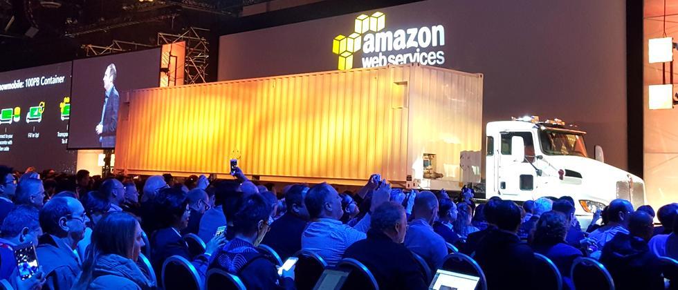 Der 30 Tonnen schwere Amazon-Laster