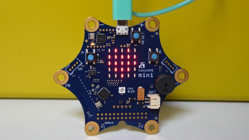 Calliope mini: Kleiner Computer, große Pläne