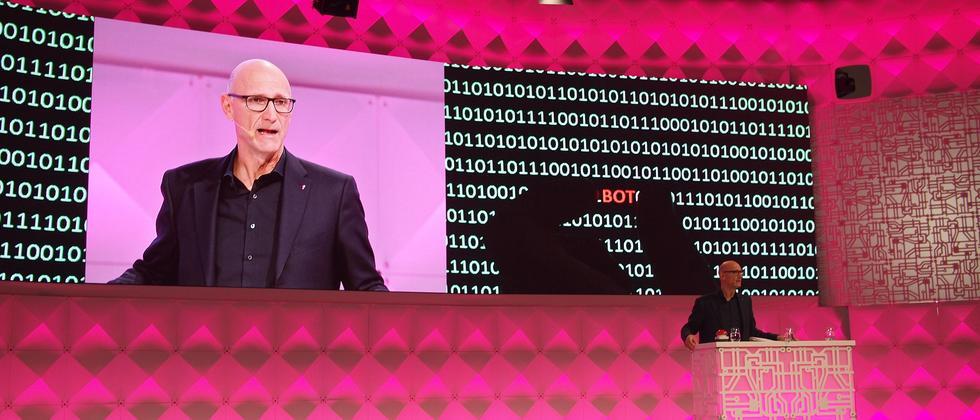 Der Telekom-Vorstandsvorsitzende Timotheus Höttges