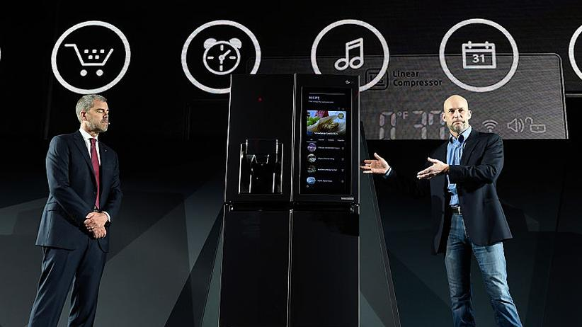 Amazon: LG präsentierte auf der CES 2017 einen Kühlschrank mit Alexa
