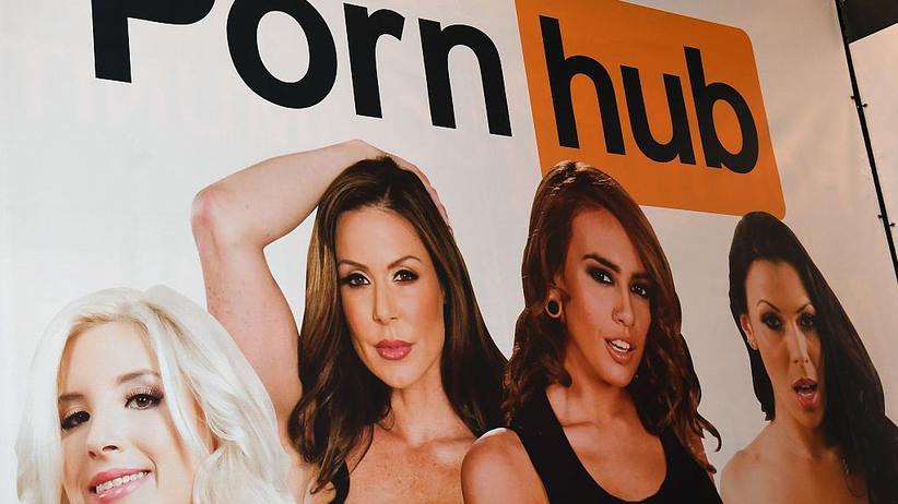 Pornhub: Pornhub-Werbung auf der AVN in Las Vegas