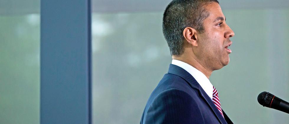 Ajit Pai, seit Januar Präsident der FCC
