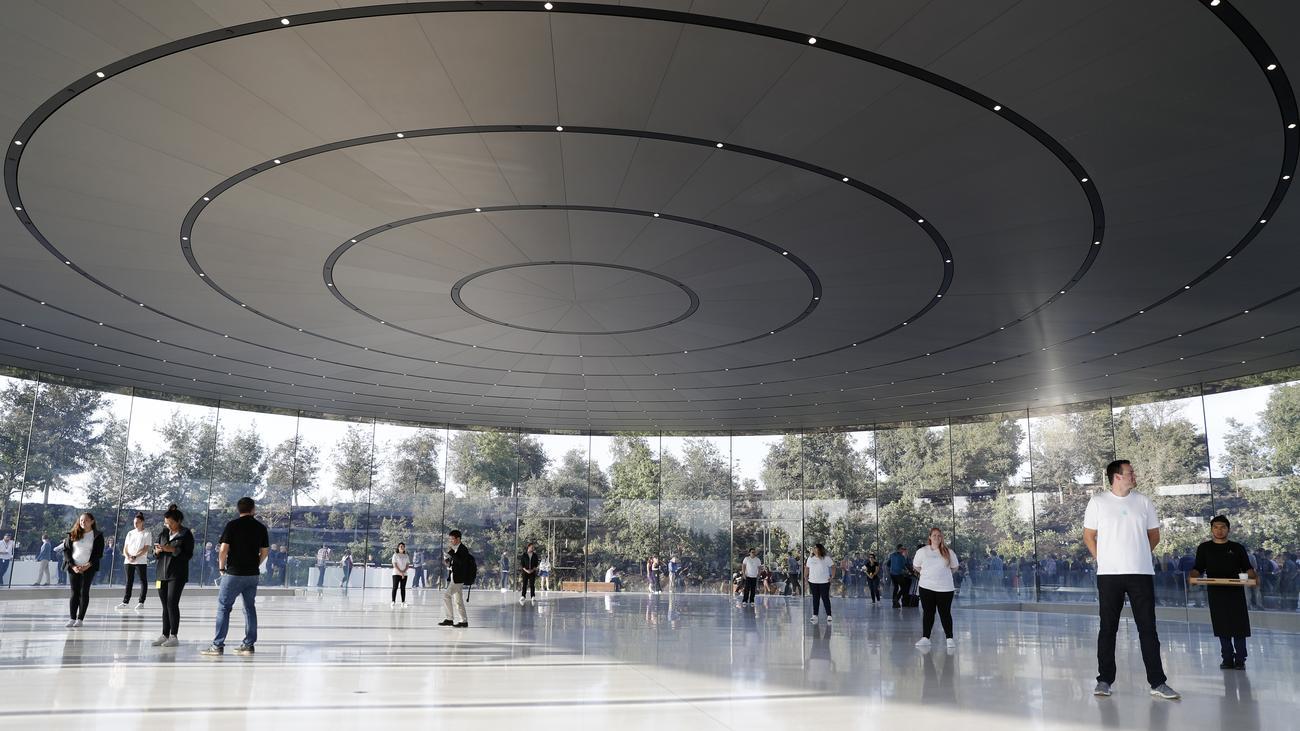 apple park das enterprise und sein raumschiff zeit online. Black Bedroom Furniture Sets. Home Design Ideas