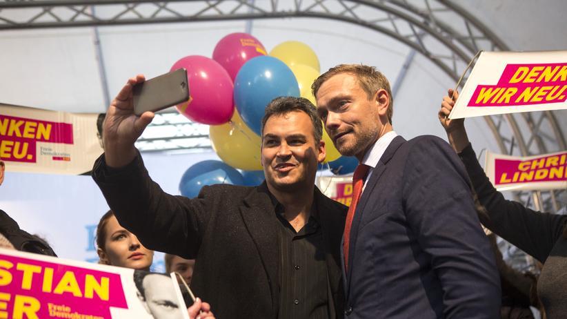 Gut vernetzt: FDP-Spitzenkandidat Christian Lindner