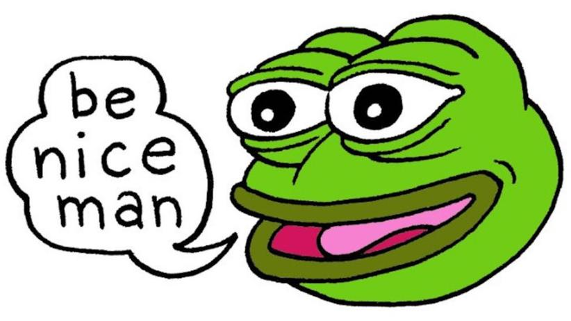 "Memes: ""Sei nett"" – wenn es doch so einfach wäre."