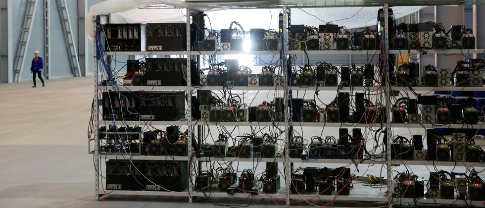 Bitcoin-Mining in Moskau