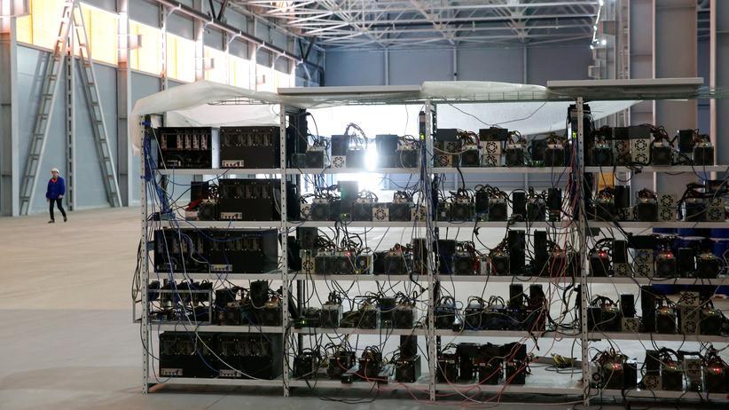Blockchain: Bitcoin-Mining in Moskau