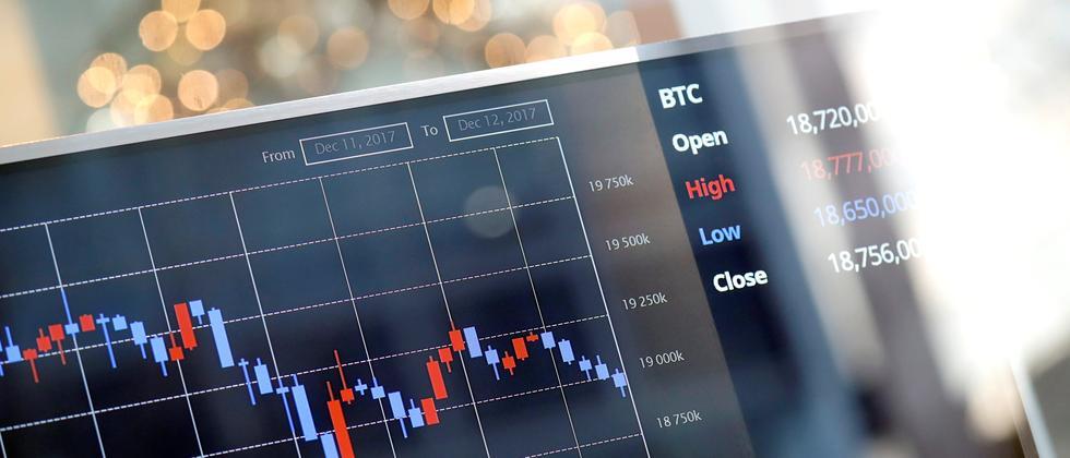 Der Wert von Bitcoin stieg in diesem Jahr auf Rekordhoch.