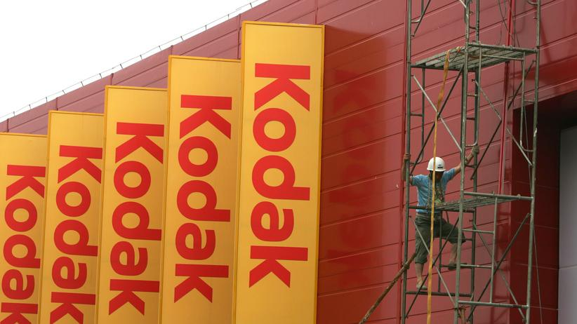Kodak ging 2012 in Insolvenz.