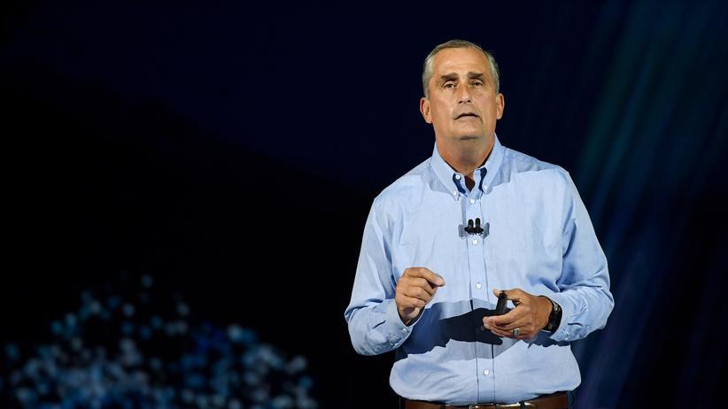 Intel-CEO Brian Krzanich auf der CES