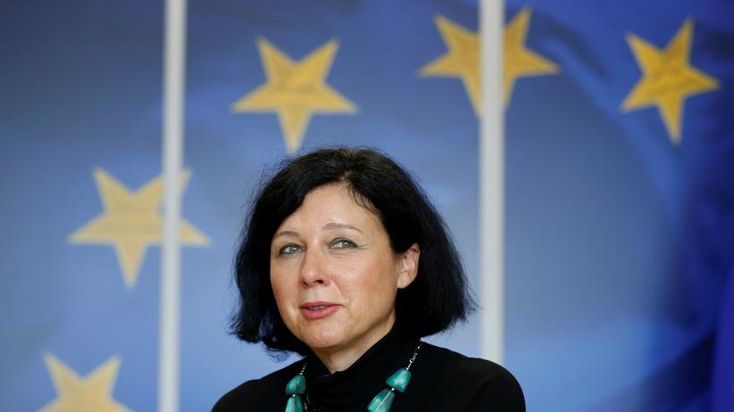 Věra Jourová: EU-Kommissarin Věra Jourová