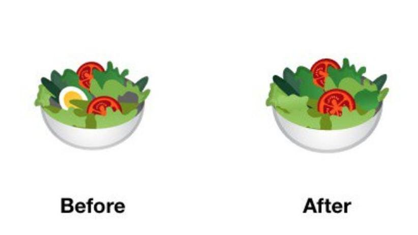 Emoji-Streit: Jetzt hat Google den Salat
