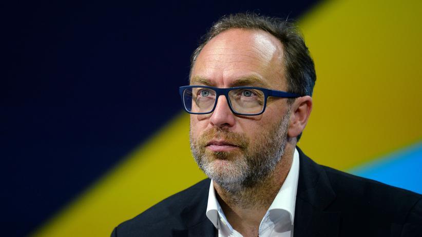 Wikipedia-Gründer Jimmy Wales: Jimmy Wales hat Wikipedia mitgegründet und schreibt bis heute für die Enzyklopädie.
