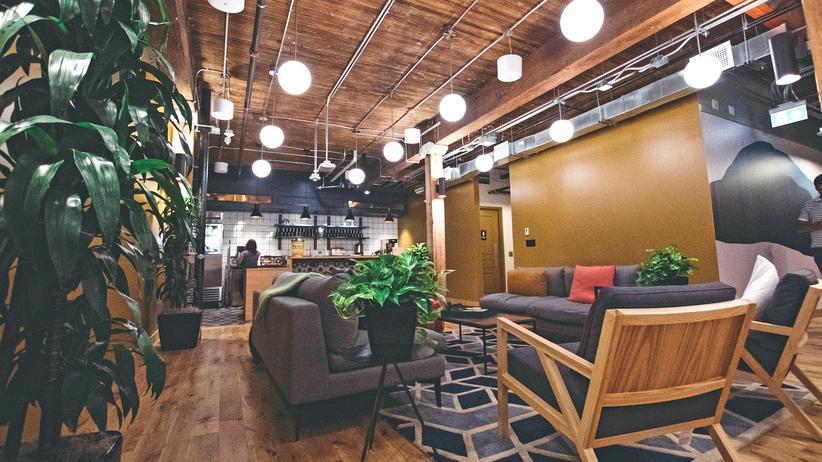 Wework: Die Kaffeeautomatisierung des Lebens
