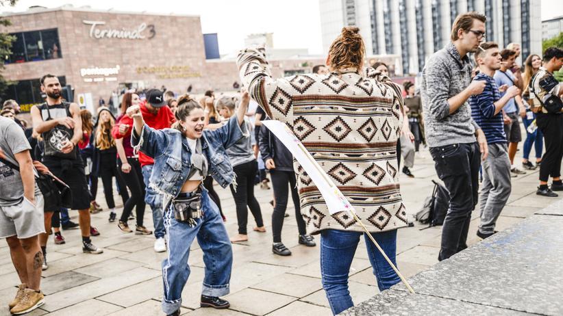 Protestkultur: Der Protest auf der Straße, wie hier in Chemnitz, bleibt auch in Zeiten des Internets wichtig.