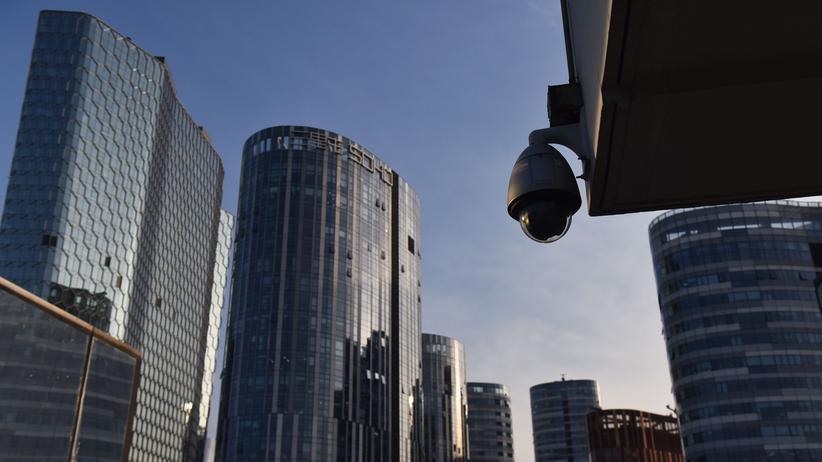 Social-Credit-System: Eine Überwachungskamera in Peking