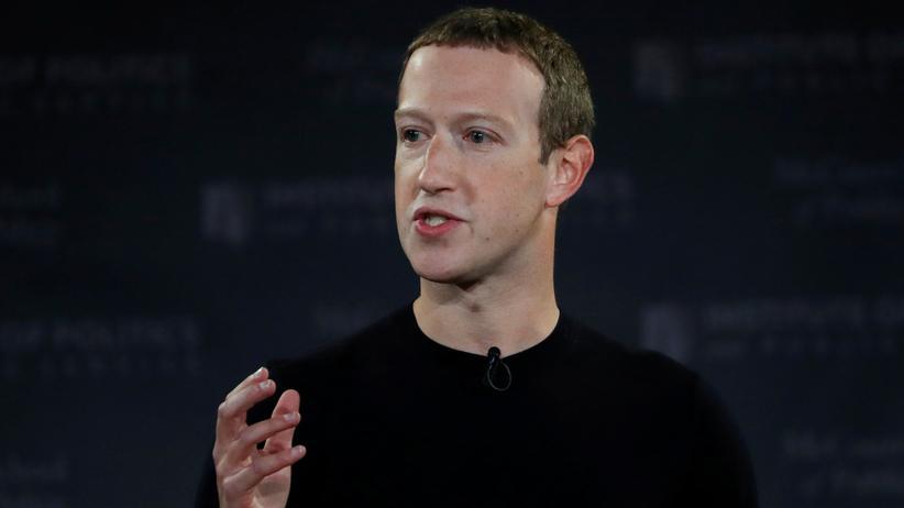 Soziales Netzwerk: Facebook-Chef Mark Zuckerberg