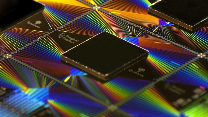 Quantencomputer: Der Sycamore-Quantenchip von Google