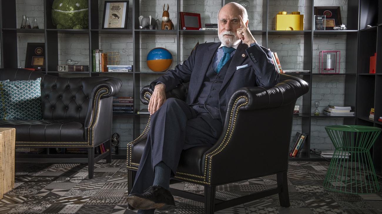 """Vinton Cerf: """"Das ist bestimmt nicht die Welt, die ich wollte"""""""