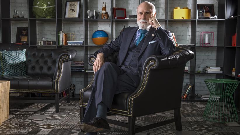 """Vinton Cerf: Google zerschlagen? """"Die offensichtliche Antwort ist: Nein"""", sagt Vinton Cerf, unter anderem inzwischen Vizepräsident und Chief Evangelist bei dem US-Unternehmen."""