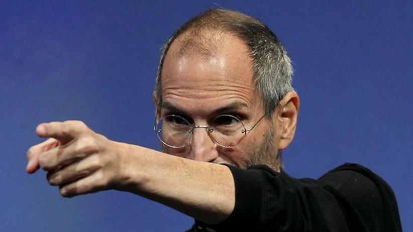 Apple-Chef Steve Jobs ist für viele eine Art Guru - wird er krank, fällt der Aktienkurs des ganzen Konzerns